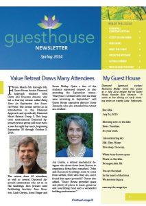 Spring Newsletter 2014
